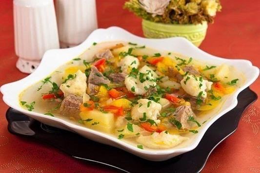 Суп с «Клецками» фото