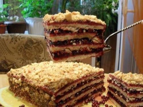 Торт «Песочный» фото