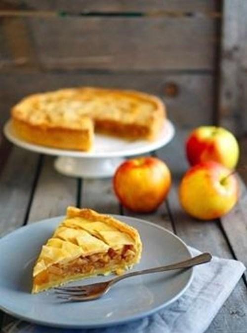 Яблочный «тортик» фото