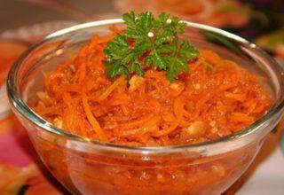 Морковь «по-корейски»