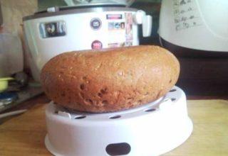 Ржаной хлеб на пару в мультиварке