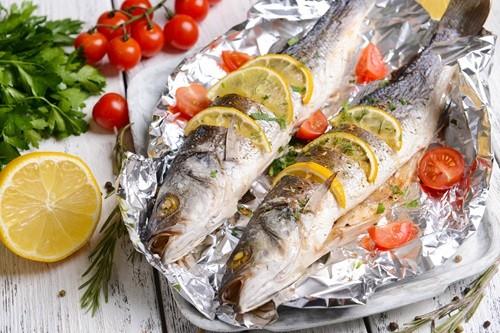 Рыба в фольге фото