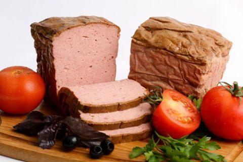 Мясной хлеб фото