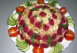 Салат «Весенний букет»