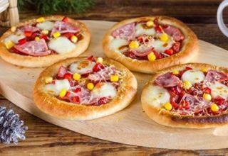 Рецепт мини пицц