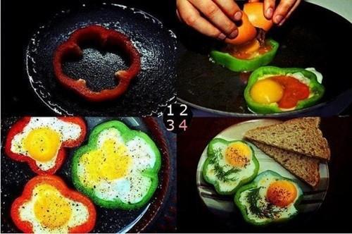 рецепт вкусной яичницы фото