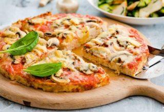 Диетическая пицца – любимое блюдо без риска для фигуры