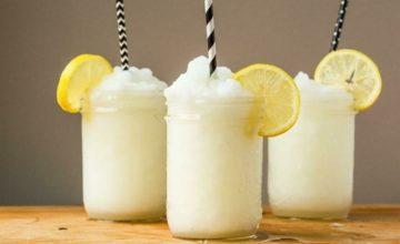 Как приготовить замороженный лимонад
