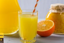 Апельсиновый сок как из магазина + варенье
