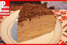 Блинный торт с заварным кремом, как Наполеон