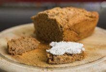 Хлеб на пиве с травами и чесноком