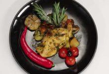 Куриная грудка карри с овощами (в мультиварке)