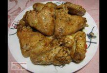 Куриные крылья в горчично-соевом маринаде