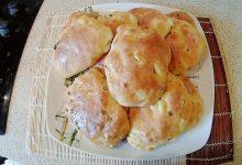 Ленивые пирожки с яйцами и зеленым луком