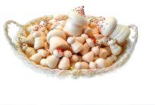 Меренга грибы: украшения для тортов