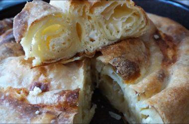 Сербская пита, слоёный пирог с сыром