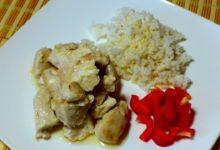 Шашлык из курицы в духовке по-гавайски