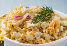 Шикарный салат за 5 минут! это очень просто, быстро и вкусно!