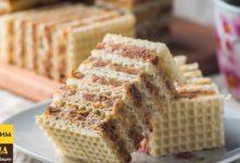 Вафельный торт без выпечки за 15 минут