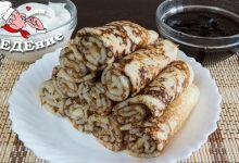 Заварные блины на кефире без яиц, вкусно и быстро!